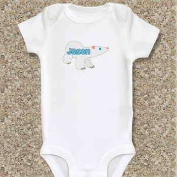 Baby clothes, baby onepiece, personalized, white cotton onesie short sleeve, bodysuit, baby shower